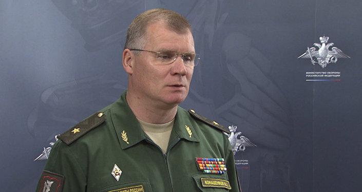 Представитель Минобороны РФ рассказал об авиаударах по позициям ИГ в Сирии (копия)