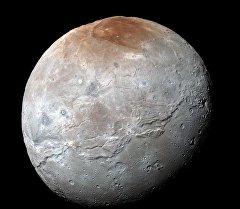 Планета Плутон. Архивное фото