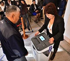 Ход выборов в Жогорку Кенеш 2015