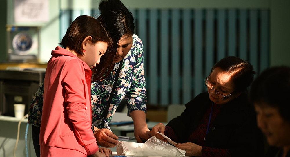 Ход выборов в Жогорку Кенеш 2015 – Бишкек