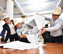 Выборы в Жогорку Кенеш. Архивное фото