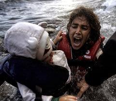 Дети беженцев. Архивное фото