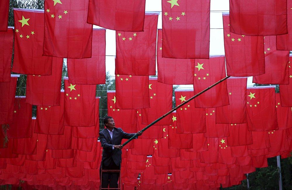 Пекинде КЭРдин түзүлгөндүгүнүн 66 жылдыгы белгиленди.
