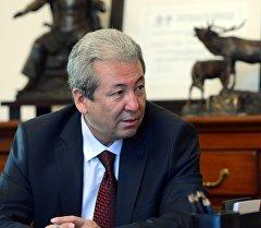 Сопредседатель партии Бутун Кыргызстан Эмгек Адахан Мадумаров. Архивное фото