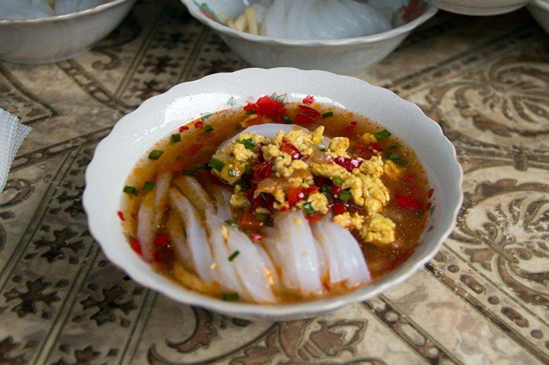 Блюдо дунганской кухни — ашлянфу