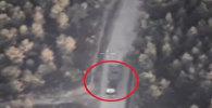 Боевая техника ИГ переместилась в жилые районы Сирии. Кадры с разведдрона