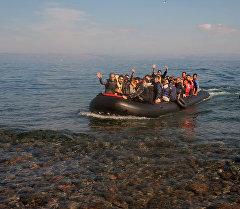 Европага Сириядан келип аткан качкындар. Архив