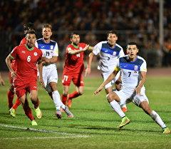 Футбольный матч Кыргызстан — Таджикистан. Архивное фото