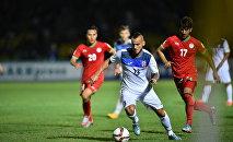 На матче Кыргызстан — Таджикистан