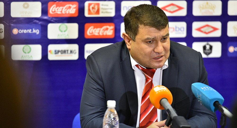 Тренер сборной Таджикстана Мубин Эргашев на пресс-конференции по окончании матча.