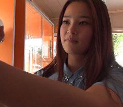 Знаменитая на весь мир продавщица из Бишкека не считает себя красивой