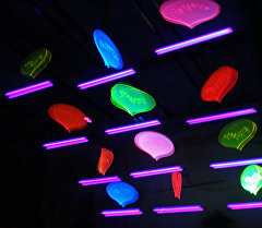 Флуоресцентные лампы. Архивное фото