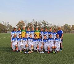 Кыргызстандын футбол боюнча кыздар курама командасы. Архив
