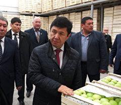 Праздник для фермеров — Сариев об открытии логистического центра