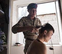 Призывники Национальной гвардии КР