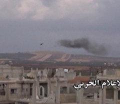 СПУТНИК_Спецоперация Сирии против ИГ: атака пехоты, танковый обстрел и удары с воздуха