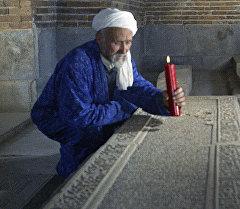 Гробница Тамерлана в мавзолее Гур Эмир в городе Самарканде. Архивное фото