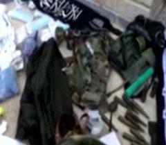 Сирийские военные захватили оружие и форму террористов в Тель-Скеке