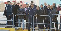 Путин осмотрел Восточный и разрешил провести первый пуск в 2016 году