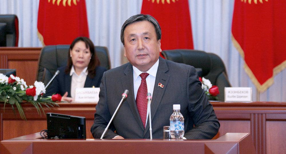 Политик Асылбек Жээнбеков. Архивное фото