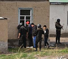 Спецоперация по ликвидации беглых заключенных. Архивное фото