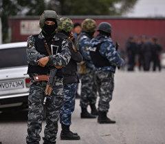 Кыргызстандын ИИМ кызматкерлери, архивдик сүрөт