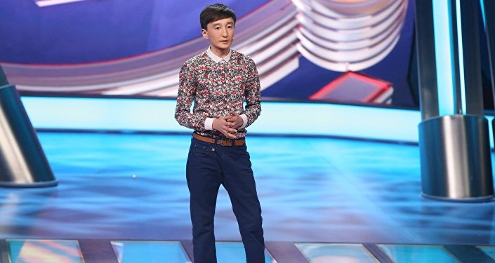 Кыргызстанский юморист Мыктыбек Мукаев. Архивное фото