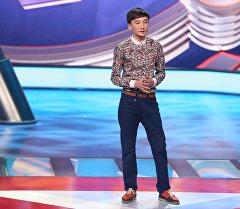 Comedy Баттл телешоусунун катышуучусу Мыктыбек Мукаев.