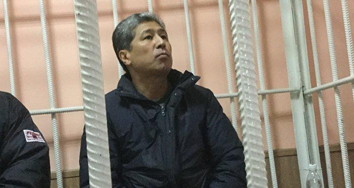 Соттолуп жаткан Данияр Нарымбаев.