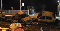 Беспорядки во французском Муаране: сожженные автомобили и груды мусора