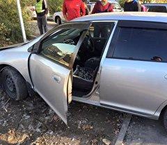 Автомобиль сбивший девочку насмерть. Архивное фото