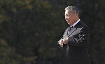 Бывший президент Кыргызстана Курманбек Бакиев. Архивное фото