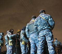 Поиски беглецов заключенных из СИЗО №50