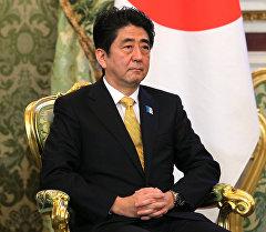 Япониянын өкмөт башчысы Синдзо Абэ. Архив