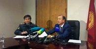 LIVE: пресс-конференция главы МВД Мелиса Турганбаева