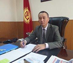 Председатель госагентсва гамсумо Бакыт Рыспаев.