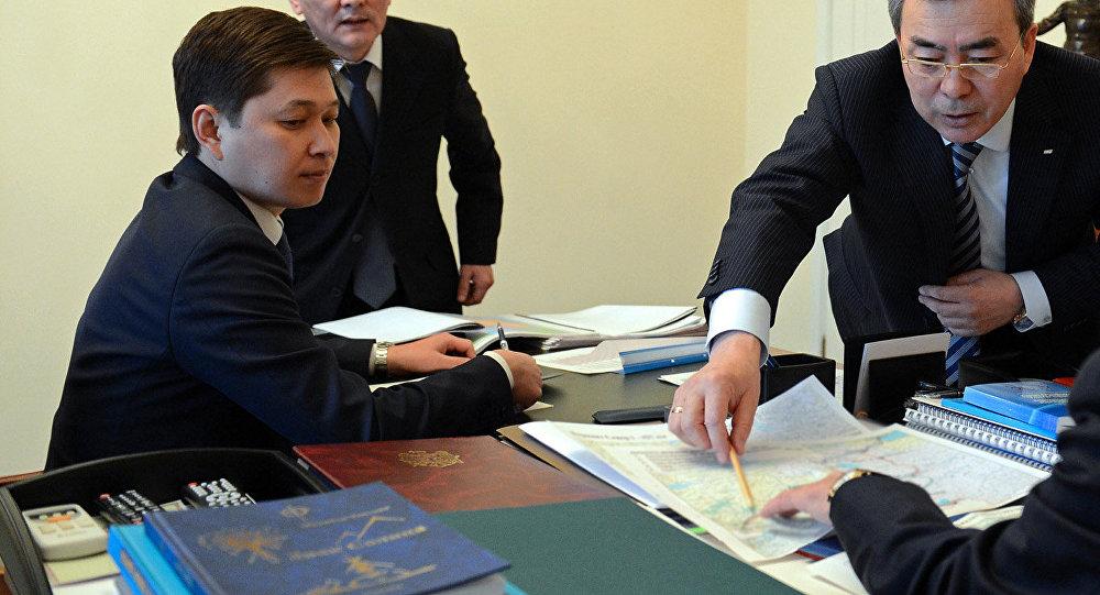 Завотдел внешней политики КР Сапар Исаков. Архивное фото