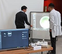 Республиканский слет учителей по предмету Информатика проходит в Бишкеке с участием педагогов по информатике общеобразовательных школ республики