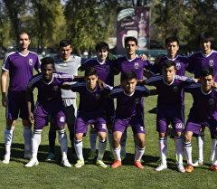 Состав футбольной команды Абдыш-Ата. Архивное фото