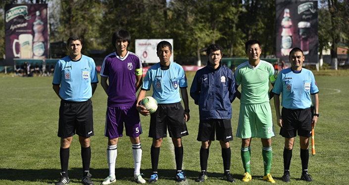 Футбол боюнча Кыргызстандын кубогунун финалдык беттеши Кант шаарындагы Центральный стадионунда өттү