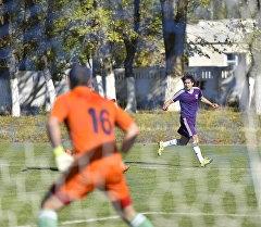 Футболисты лиги Кыргызстана. Архивное фото