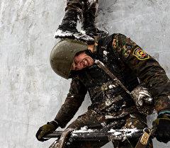 Квалификационные испытания на право ношения крапового берета среди военнослужащих