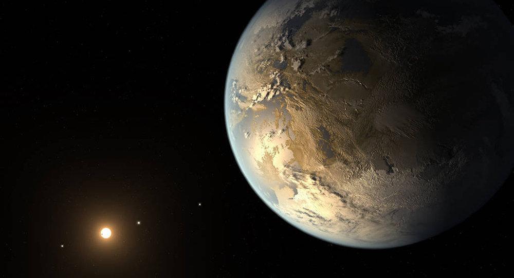 Скалистая планета Кеплер. Архивное фото