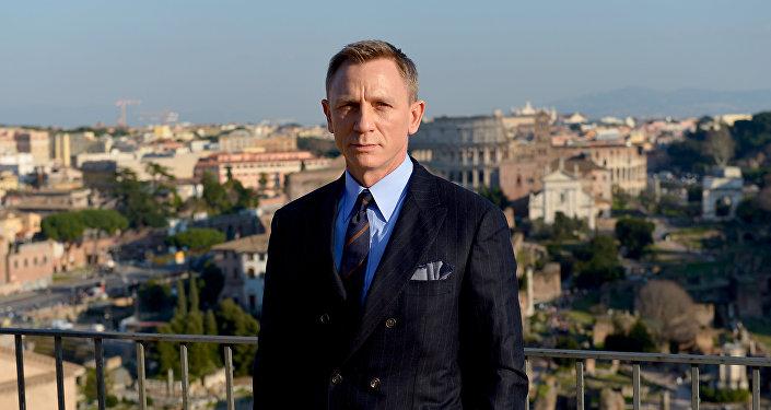 Исполнитель главной роли экшн-триллер 007 Дэниэл Крэйг, играющий суперагента с 2006 года. Архивное фото