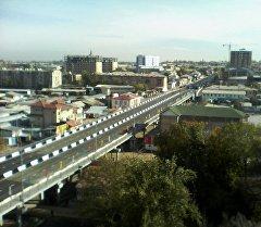 Президент Атамбаев открыл эстакадный мост в Оше