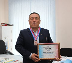ИИМ кызматкери Абдыкапар Урбаев.