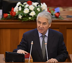 Бир бол фракциясынын депутаты Мыктыбек Абдылдаев. Архив