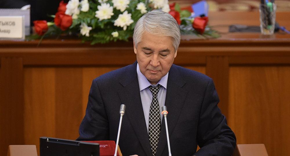 Мыктыбек Абдылдаев депутат от фракции Бир бол. Архивное фото
