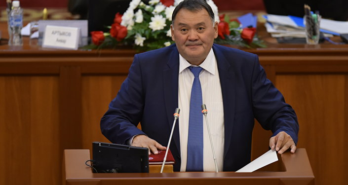 Жогорку Кеңештин депутаты Камчыбек Жолдошбаевдин архивдик сүрөтү