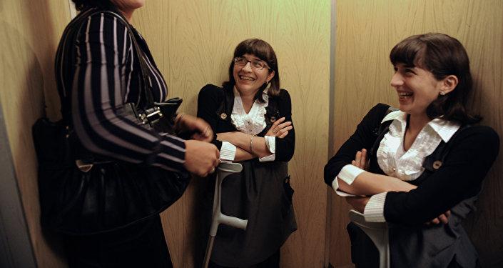 Резахановы в гостинице Звездная в Москве с мамой Зумрият Резахановой